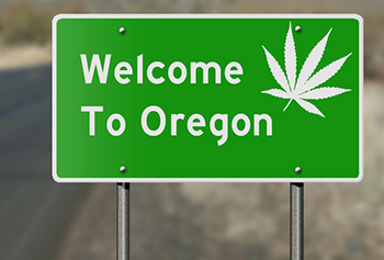 Oregon Cannabis Sign