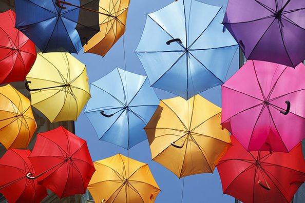 Diversity and Umbrellas