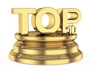 golden top ten icon