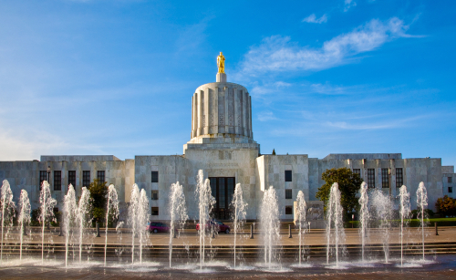 Capitol in Salem, Oregon